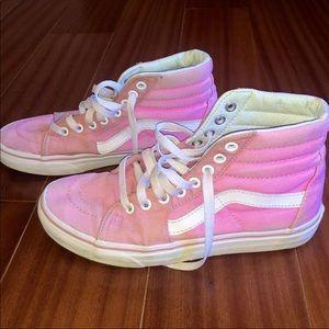 Vans Pink High Tops